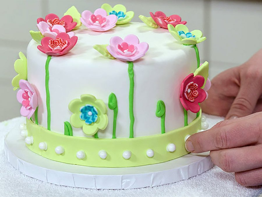 Cake Decorating With Fondant Jax Cooking Studio