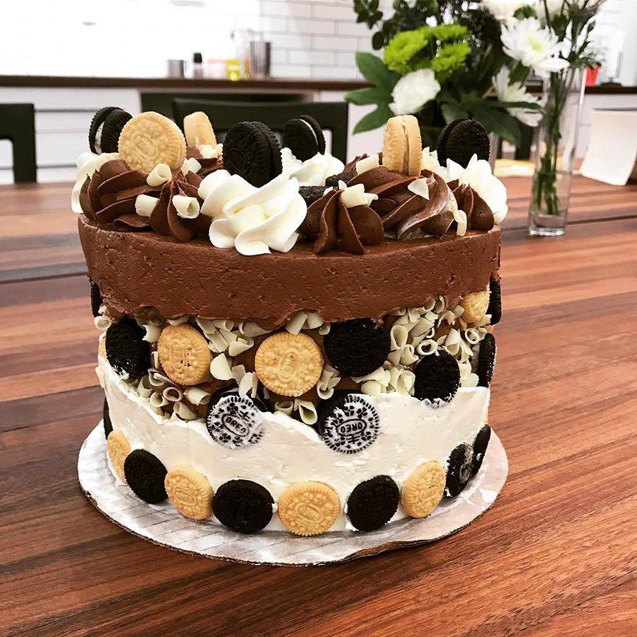 Fabulous Fault Line Cake Make Take Jax Cooking Studio Funny Birthday Cards Online Kookostrdamsfinfo